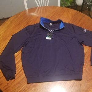 Footjoy Performance Half Zip Pullover - Titleist